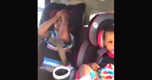 This Kid's Reaction To His Mother's Pregnancy Is Going Viral
